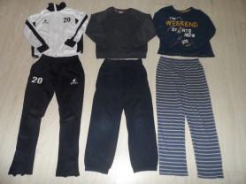 Фирм. штаны толстовки лонги костюмы жилеты 120-130