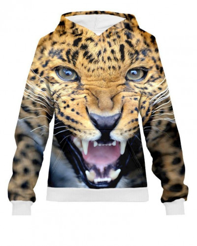 Худи женское Леопард