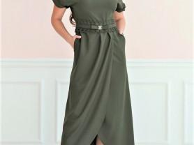 📍Женское платье Ариэль хаки💃