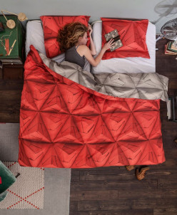Комплект постельного белья Оригами, 2-х спальный. ТРИ ЦВЕТА!
