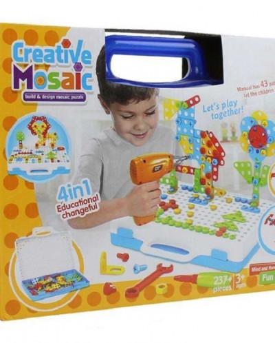 Конструктор мозаика Creative Mosaic 237 деталей