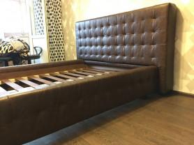 Новая кровать из эко кожи