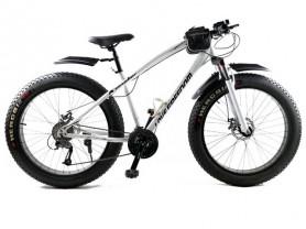 велосипед внедорожник Фэтбайк с широкими колёсами