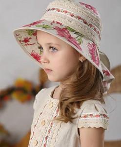 """Шляпа для девочки """"Маки"""""""