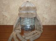 Меховая шапка трансформер размер 56