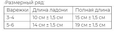 """Варежки детские из шерсти """"Як"""" серый, Монголия"""