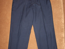 Темно-синие брюки gulliver 128 р-ра