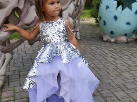 платье Samoylova Oxana р-р 116  цена 5500 руб