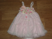 Платье/сарафан розовое  (США) на 4-5 лет.