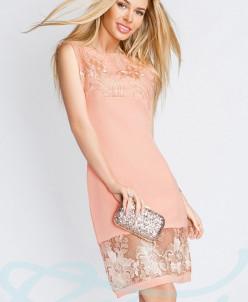 Платье кружевные цветы Gepur