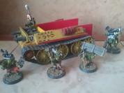 Модели Warhammer 40К.Гоблины (металл).