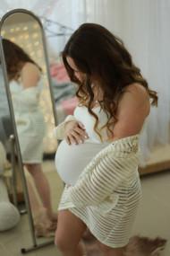 Фото животиков на 37 неделе беременности