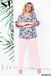 Костюм 46870 (блузка+брюки)