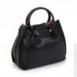 Женская кожаная сумка 1600-Е Блек