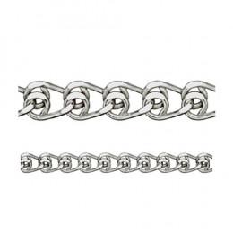 Браслет из серебра НБ 22-087-3-050 Красцветмет 17 см