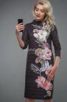 Платья  Модель 2610P1001 шоколад Artribbon-Lenta   Производи