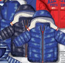 Утепленная куртка для мальчика