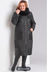 Пальто Модель 1032 тёмно-серый Диамант      Производитель: Д