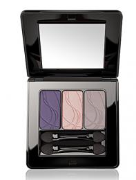 Шелковистые тени для век «Трио» 605 Сиреневый/Purple