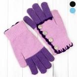 Подростковые перчатки вязаные