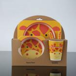 Набор детской посуды 5 предметов Жираф