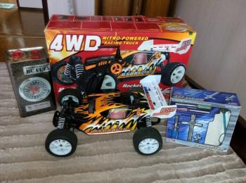 Радиоуправляемая модель Багги BSD Racing 4WD RTR 1:10