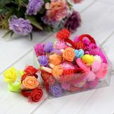Набор цветных резинок для волос Цветы
