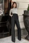 Классические брюки-палаццо