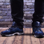 Мужские комбинированные кроссовки