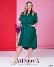 Платье №6146-1-Бирюзовый