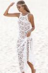 Пляжная кружевная туника N004 от Vive Clarte