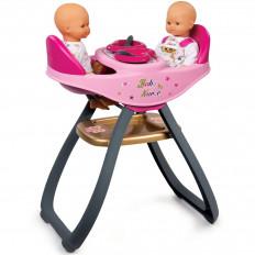Smoby 220315 Стульчик для кормления двойняшек Baby Nurse