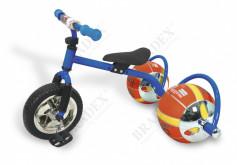 Велосипед с колесами в виде мячей «БАСКЕТБАЙК» синий (Bike o