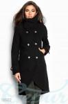 Асимметричное кашемировое пальто