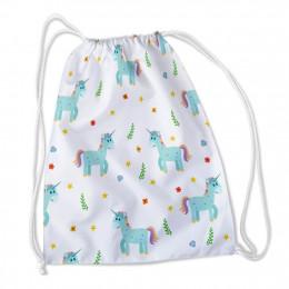 Сумка-рюкзак Добрые единорожки 1 оксфорд
