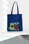 Джинсовая сумка шоппер