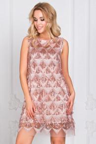 Платье Мелани розовый П-214-2