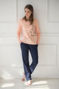 Комплект (блуза+брюки)