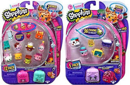 Shopkins Season 5 (1) 12 Pack and (1) 5 Pack with Bracelet