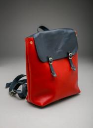 Рюкзак женский 100% кожа, Монголия