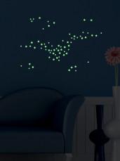 """Набор 100 шт. наклеек """"Светящиеся Звезды»"""