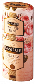 """Чай Basilur 2 В 1 """"Димбула и Английская роза"""" 125 гр ж.б"""