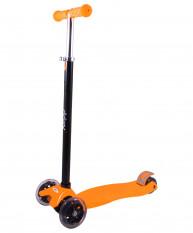 Самокат 3-колесный 3D Casper  (синий, оранжевый)