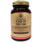 Solgar, Коэнзим Q-10, 200 мг, 60 капс
