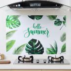 Наклейка жироотталкивающая для кухни «Hello Summer»