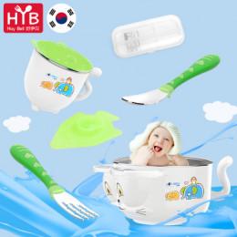 Набор детской столовой посуды для ребенка Hoy Bell, нержавею