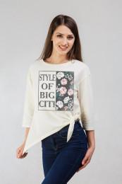 Блуза женская, кулирка с лайкрой