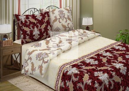 КПБ 2 спальный с европростыней из поплина Версаль