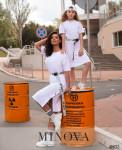 Платье №870Д-Белый