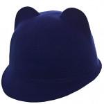Шляпа фетровая детская FD16005 электрик